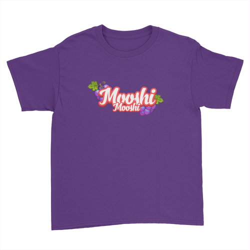 Mooshi Mooshi - Kids Youth T-Shirt Purple