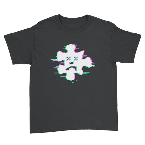 Glitch Chromatic - Kids Youth T-Shirt