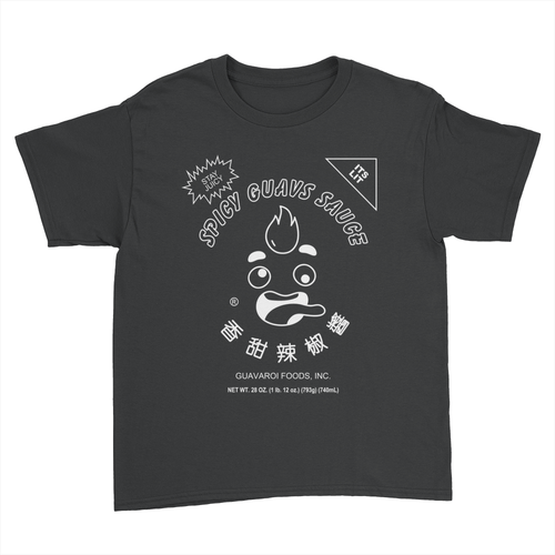 Spicy Guavs - Kids Youth T-Shirt Black
