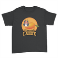 Mango Lassie - Kids Youth T-Shirt Black
