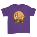 Mango Lassie - Kids Youth T-Shirt Purple