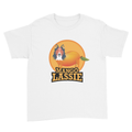 Mango Lassie - Kids Youth T-Shirt White