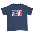Bottle Flipper - Kids Youth T-Shirt Navy