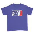 Bottle Flipper - Kids Youth T-Shirt Royal Blue