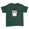 Pingu - Kids Youth T-Shirt Forest Green