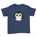 Pingu - Kids Youth T-Shirt Navy