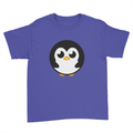 Pingu - Kids Youth T-Shirt Royal Blue