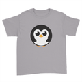 Pingu - Kids Youth T-Shirt Sport Grey