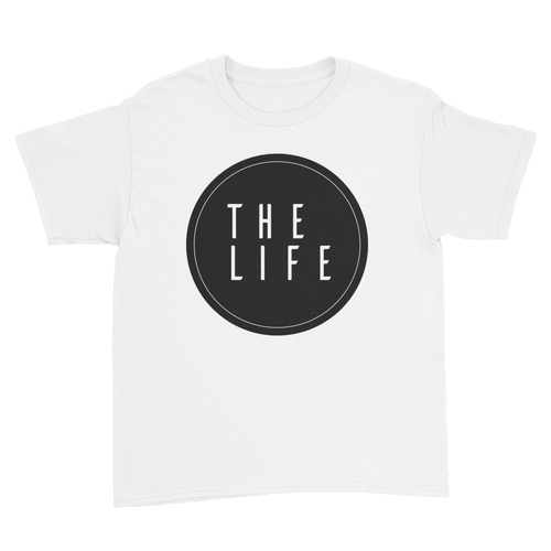 The Life - Kids Youth T-Shirt White