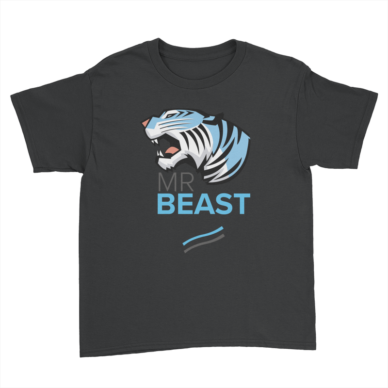 Tiger Lines - Kids Youth T-Shirt