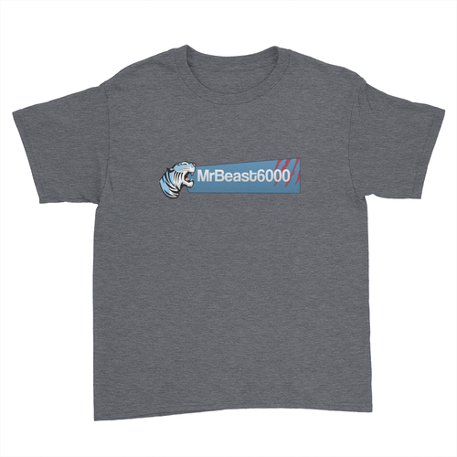 MrBeast 6000 - Kids Youth T-Shirt
