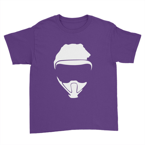 Logo - Kids Youth T-Shirt Purple
