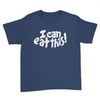 I Can Eat This! - Kids Youth T-Shirt Navy