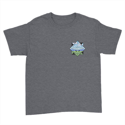 Trainer Tips Color Pocket Logo - Kids Youth T-Shirt