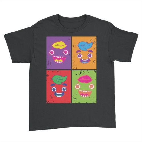 Artsy Guavs - Kids Youth T-Shirt Black