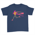 Female Runner - Kids Youth T-Shirt