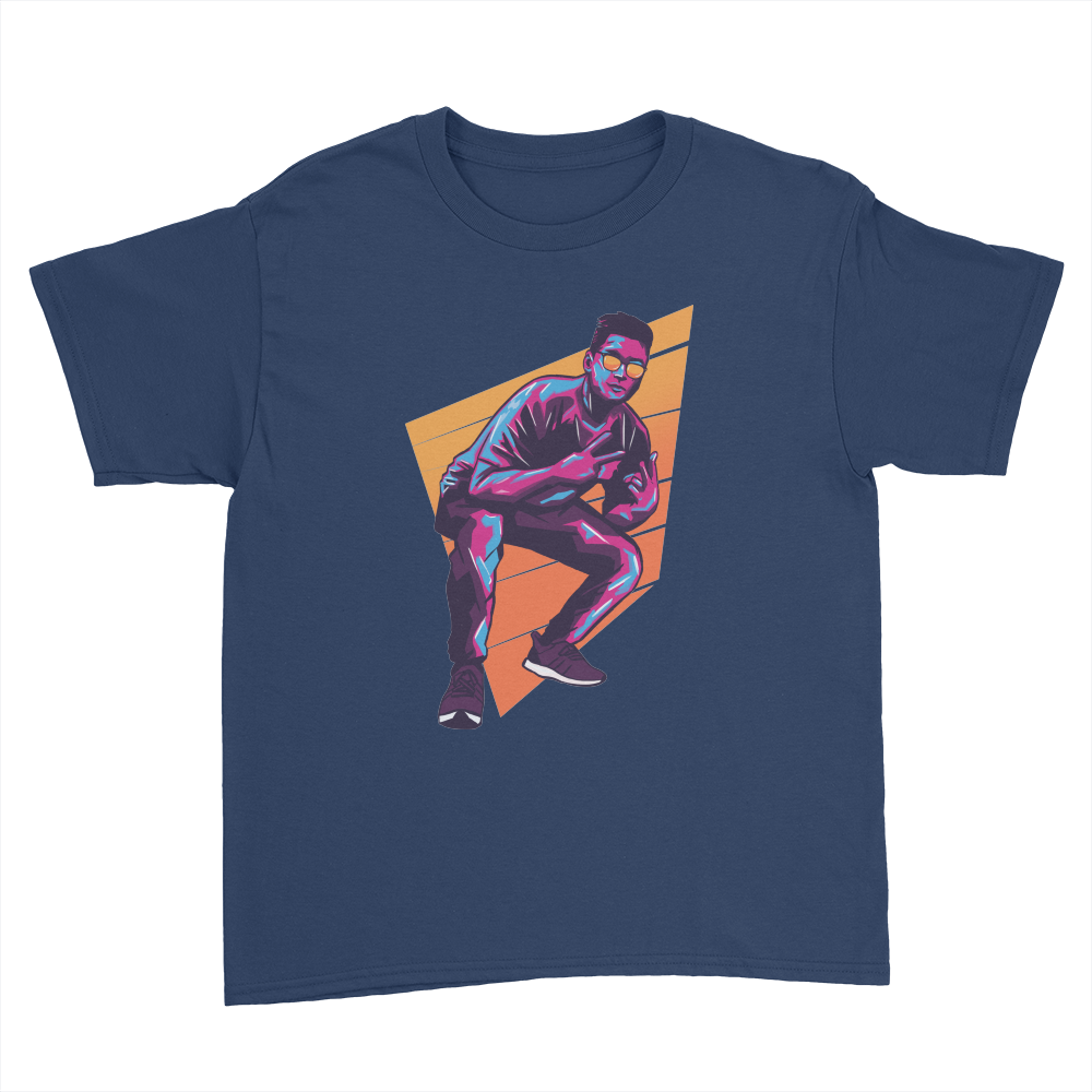 BDD - Kids Youth T-Shirt Navy