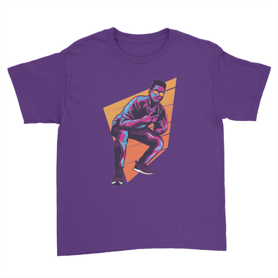 BDD - Kids Youth T-Shirt Purple
