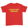 Animation Rewind - Kids Youth T-Shirt Red