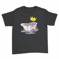 Bathtub - Kids Youth T-Shirt Black
