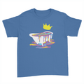 Bathtub - Kids Youth T-Shirt Royal Blue