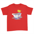 Bathtub - Kids Youth T-Shirt Red