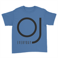OJ Everyday - Kids Youth T-Shirt Royal Blue