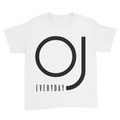 OJ Everyday - Kids Youth T-Shirt White