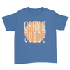 Orange Juice - Kids Youth T-Shirt Royal Blue