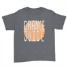 Orange Juice - Kids Youth T-Shirt Dark Heather