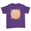 Orange Juice - Kids Youth T-Shirt Purple