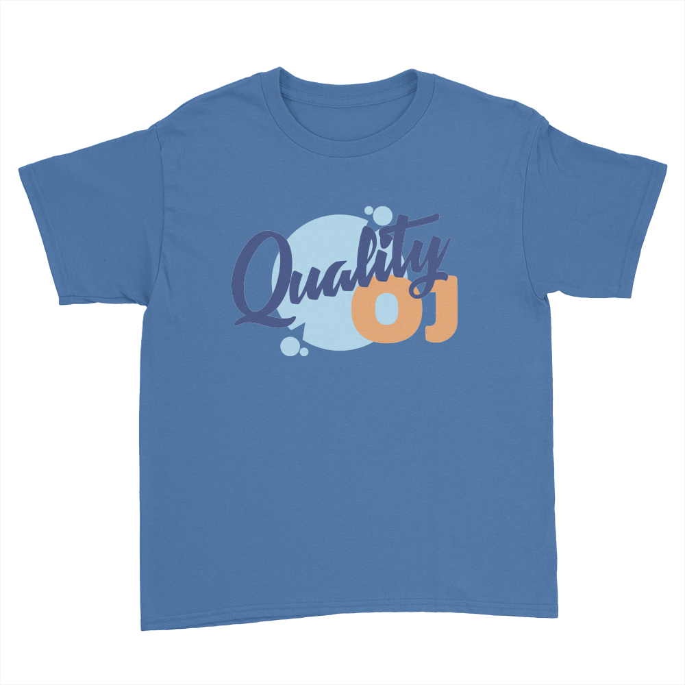 Quality OJ - Kids Youth T-Shirt Royal Blue