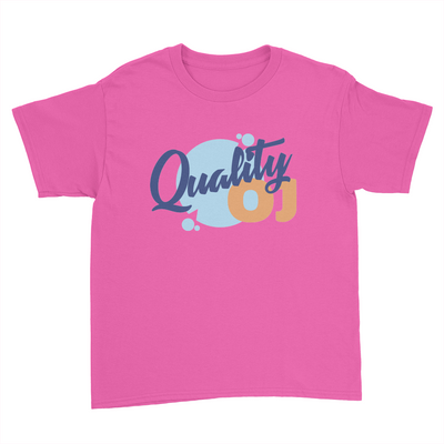 Quality OJ - Kids Youth T-Shirt Azalea