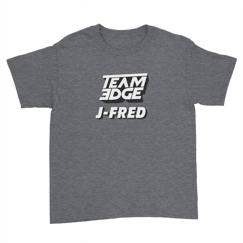 Team J-Fred - Kids Youth T-Shirt Dark Heather