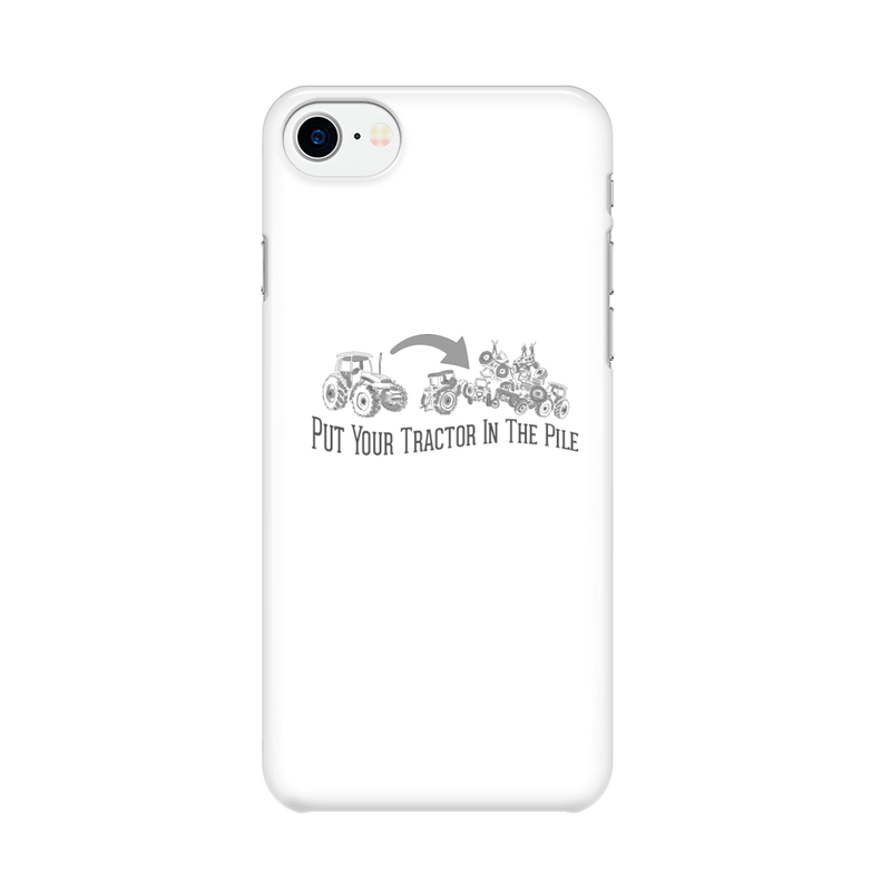Tractor Pile -  iPhone Case