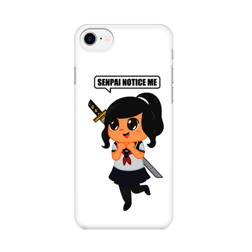 Senpai Notice Me -  iPhone Case Gloss