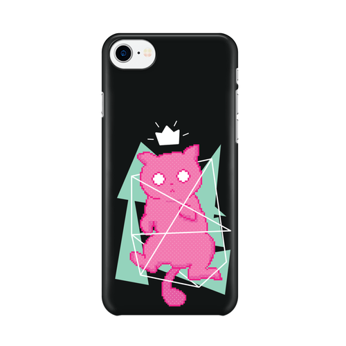 8 Bit Cat - Phone Case Gloss