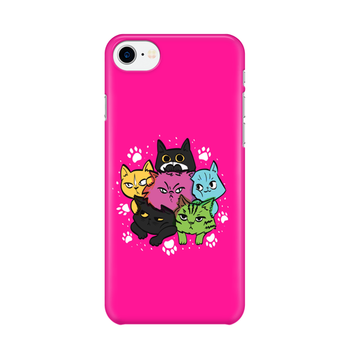 6 Kitties -  iPhone Case Gloss