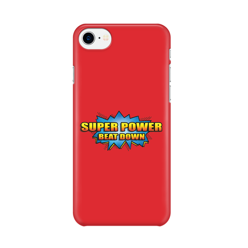 Super Power Beat Down -  iPhone Case