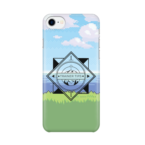 Trainer Tips Color Logo -  iPhone Case Gloss