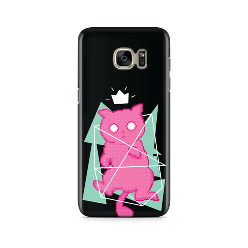 8 Bit Kitty -  Samsung Case Gloss