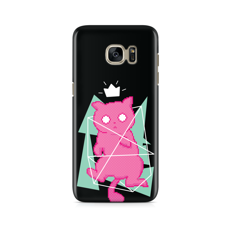 8 Bit Kitty -  Samsung Case