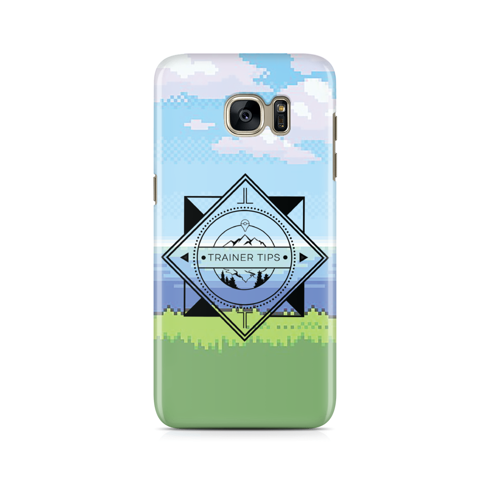 Trainer Tips Color Logo -  Samsung Case Gloss