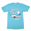 Spiders Are Weak To Doors Shirt
