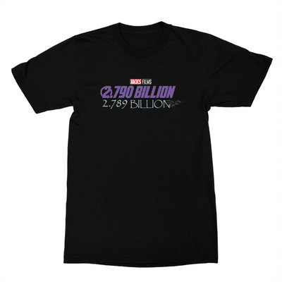 Jacksfilms - 2.790 Billion Unisex T-Shirt