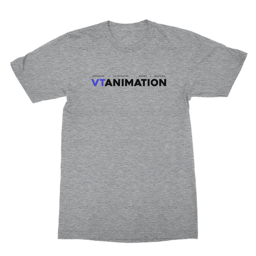 VTAnimation Logo Shirt (Black Ink)