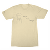 SagaTheYoungin Character White Tee (black)