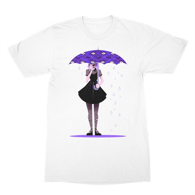 Anidoodles Weather Witch Umbrella Tee