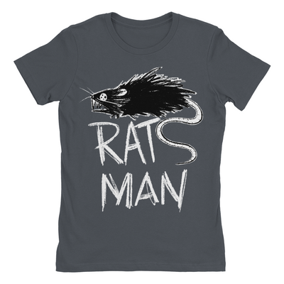 Rats Man Ladies Shirt