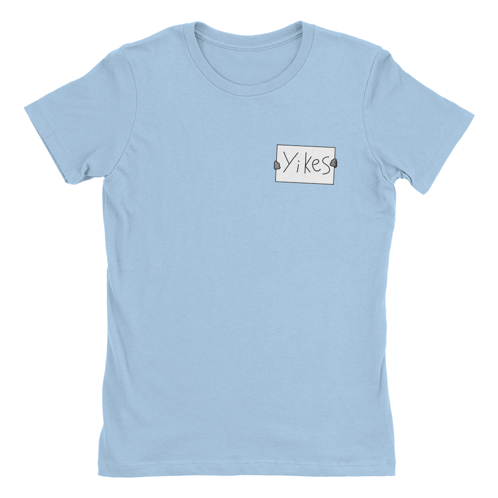 Yikes! - Pocket Print Ladies T-Shirt